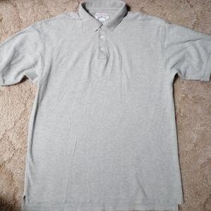 BOCA CLASSICS Button Up Polo Gray Men's Size XL
